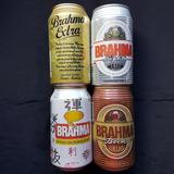 Latinhas Cerveja Antigas Vintage Lote Brahma Estilo Coleção
