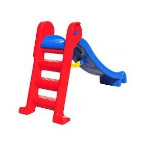 Escorregador Infantil Playground Escolar Médio - 1ª Linha