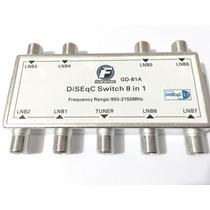 Chave Diseqc 8x1 Protocolo 1.1