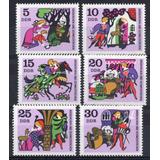 D D R 1970 Mi 1545/50** Yv 1238/43 Mint Cuentos Infancia