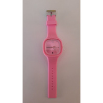 Reloj De Silicona Rosa - Caseros - Sin Pila