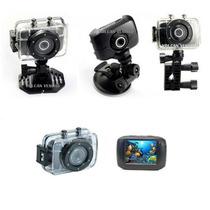 Camera Filmadora Digital Camcorder Prova Dagua Estilo Pro