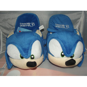 Bonitas Pantunflas De Sonic