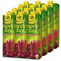Kit 12 Suco Happy Day Cherry - Cereja 1l - Importado Áustria