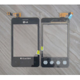 Tela Touch Screen Lg E405 Optimus L3 Dual Preto