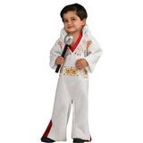Disfraz Elvis Presley Mameluco Del Traje, Del Niño
