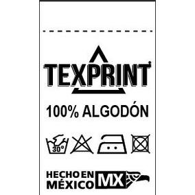 5 Millares De Etiquetas Para Textiles 3*5 Ch,m,g,xg,xxg.
