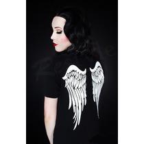 Blusa Camiseta Playera Alas De Angel Wings Gotico Gotham