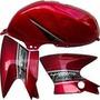 Tanque De Nafta Y Plastico Yamaha Ybr 125 Full Freeway Motos