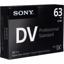 Cassette Minidv Sony Premium - Dist. Oficiales X 5 U