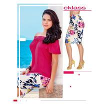 Padrísima Falda Floreada De Moda Cklass