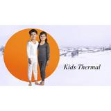 Blusa Térmica+calça Térmica Proteção Inseto Infantil Criança