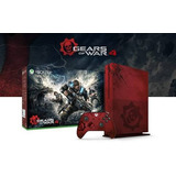 Xbox One Slim Versión Gears Of War 4 - 2tb