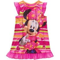 Vestido Pijama Minnie Talla 24 Meses 5 Años Envio Gratis