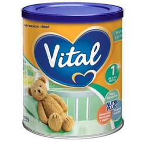 Leche Vital 1 Nutri Plus X 800g (6 Latas) Punto Bebe