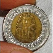 Egipto Moneda Tutankamon One Pound Cosasdeleo