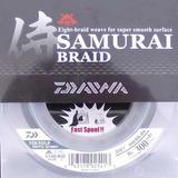 Linha Multifilamento Daiwa Samurai Braid 0,44mm 40lbs 137m