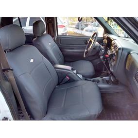 Promoção Capa Banco De Couro Courvin Chevrolet Blazer 05/11