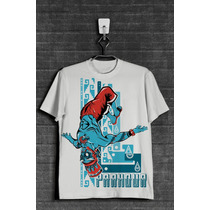 T-shirt / Playera Parkour México. Freerunning Tláloc 2017.