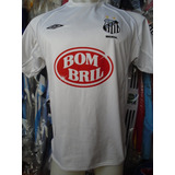 Camiseta Fútbol Santos Brasil Umbro 2002 2003 #10 Diego T. M