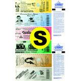 Tickets Entradas Con Holograma Para Todo Tipo De Eventos