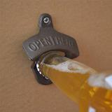 Destapador Abre Botellas Cerveza De Pared Bar Open Here