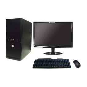 Computador 4gb Hd 500gb Monitor Lcd 19