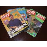 Revistas Muy Interesante Juegos Números 9, 11, 13 Y 14