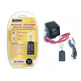 Tb Alarma Para Auto Bulldog Remote Talking Alarm System