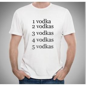 Camiseta Jack Daniels Heineken Vodka Duff Engraçadas Bebidas