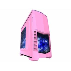 Gabinete Gamer Raidmax Scorpio V Pink Usb3.0 Cooler Led
