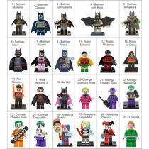 Legos Minifiguras Marvel Dc Super Heróis Compatível Lego
