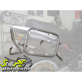 Suporte Bauletos Bau Lateral Inox Motopoint - R 1100 Gs Bmw
