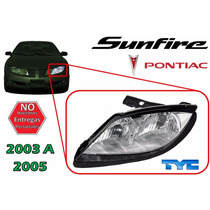 03-05 Pontiac Sunfire Faro Delantero Sin Foco Izquierdo Tyc