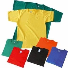 Franelas Ovejita Unicolor Colores Y Tallas 8, 10 Y 12