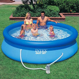 Kit Completo Piscina Inflável Intex Easy Set 2400 Litros