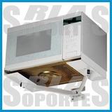 Soporte Para Horno Microondas Universal Regulable Oferta