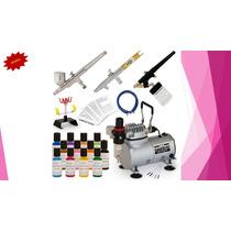 Aerógrafo Para Pasteles Kit Completo