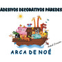 Arca De Noé Adesivo Painél Decorativo Paredes Aniversários