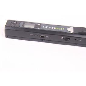 Scanner Portátil Mão Iscan 600dpi Usb Entrada Cartão Cp33