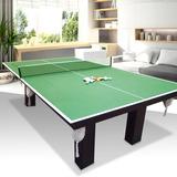 Mesa De Pool Con Tapa Reversible A Ping Pong