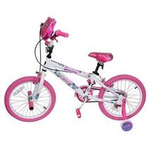 Bicicleta Bmx Kent Rodada 18 Rosa Para Niña De 5 A 9 Años