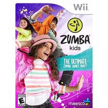 Jogo Zumba Kids Para Criança Nintendo Wii Novo Original