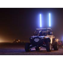 Antena Bandera Led Whip De 1.80mts Jeep Razor Colores