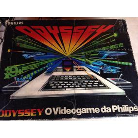 Console Odyssey Na Caixa Em Otimo Estado Com 3 Jogos
