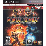 Izalo: Mortal Kombat Komplete Edition Ps3 Físico + Local!!