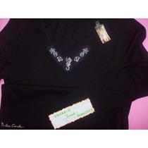 Camiseta Dulce Carola -dama- Talle 2- Manga Larga-
