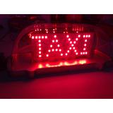 Copete De Taxi Libre Con Luz Led Y Switch Lu077