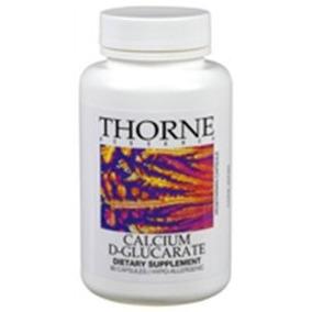 Thorne Investigación Otc Calcio D-glucarato Vegetariana Cáps