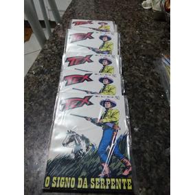 Tex Nª 01 1ª Ed. O Signo Da Serpente Edição Fac-símile.